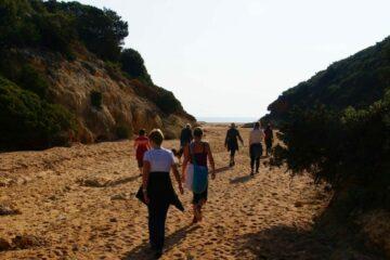 Wandern am Meer