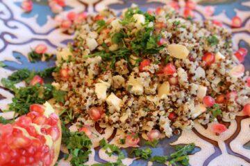 Granatapfel-Quinoa-Salat
