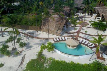 Resort Sansibar von oben