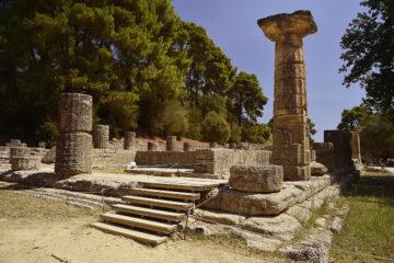Steine von altem Tempel