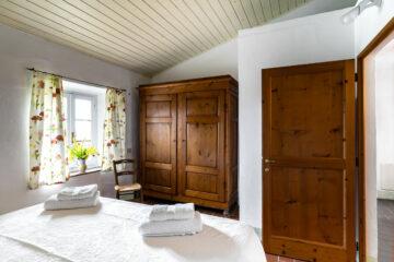 Schlafzimmer im grossen Apartment