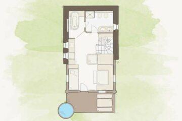 Lageplan Jagdhaus