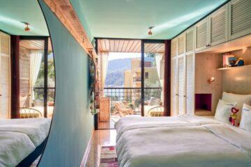 Zimmer im Gipsy Style mit Blick aufs Meer