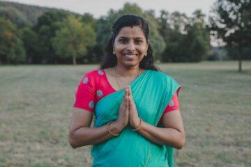 Indische Ärztin