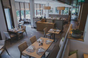 Blick von oben ins Restaurant