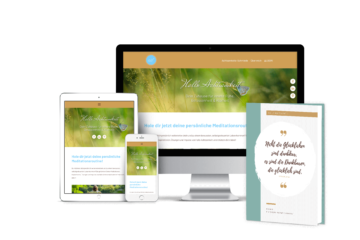 Präsentation Online-Produkt auf verschiedenen Geräten