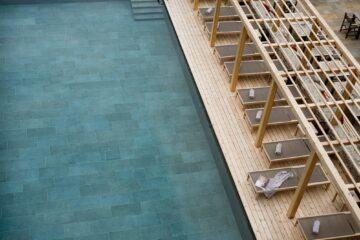 Pool Außen von oben