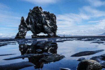 Steinformation im Meer