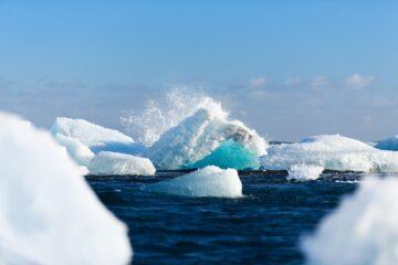 Meer und Eisschollen